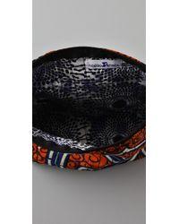 Bluma Project - Orange Print Cosmetic Bag - Lyst