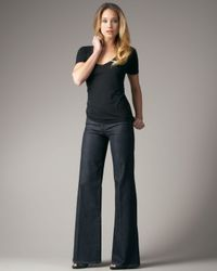 Joe's Jeans | Blue High-waist Genevieve Denim Trousers | Lyst