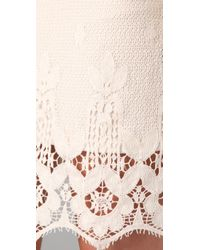 Leyendecker | White Trip Lace Dress | Lyst