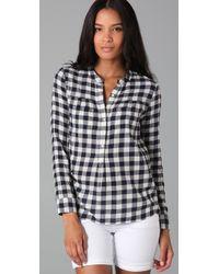 Madewell | Black Checked Boiler Shirt | Lyst