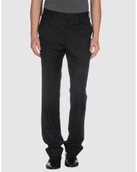 Paul Smith | Black Extra-long Wool Trousers for Men | Lyst