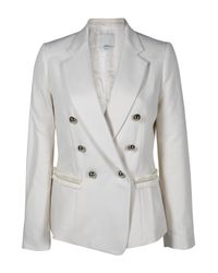 3.1 Phillip Lim | White Double Breasted Blazer | Lyst