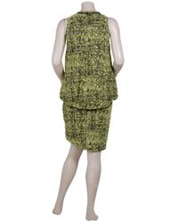 Proenza Schouler | Multicolor Boucle Blouson Dress with Yoke | Lyst