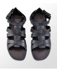 KG by Kurt Geiger | Black Breeze Leather Sandal for Men | Lyst