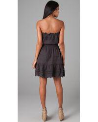 Rebecca Taylor | Black Eyelet Dress | Lyst