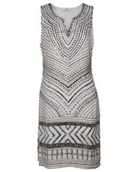 Day Birger et Mikkelsen | Gray Beaded Dress | Lyst