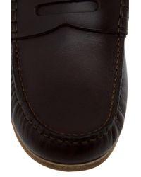 Jil Sander - Brown Leather Loafer for Men - Lyst