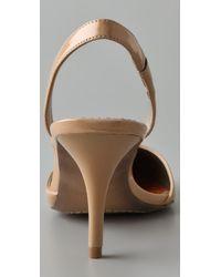Sam Edelman - Natural Orly Kitten Heel Pumps - Lyst