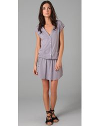 Velvet By Graham & Spencer | Purple Kanika Dress | Lyst