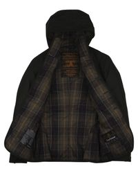 Barbour - Green Hooded Hunter Jacket for Men - Lyst