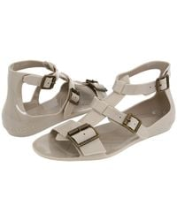 Burberry | Gray Jelly Gladiator Sandal | Lyst
