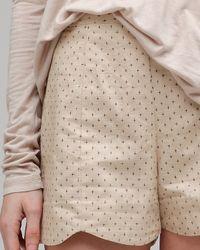 Dolce Vita - Natural Clove Shorts - Lyst