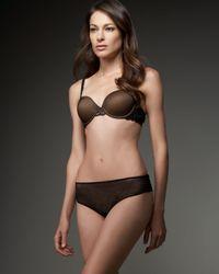 La Perla | Black Minimal Lace Thong | Lyst