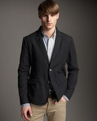 Rag & Bone | Black Phillips Cotton Blazer for Men | Lyst