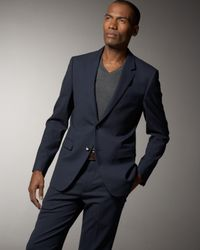 Theory | Blue Xylo Tailor Sport Coat Navy for Men | Lyst