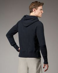 Tim Hamilton - Blue Raglan-sleeve Hoodie, Navy for Men - Lyst