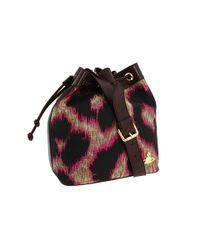 Vivienne Westwood | Multicolor Rosa Lurex Leopard Bucket Bag | Lyst