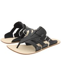 Y-3 | Luxilette Sandal in Black/blue | Lyst