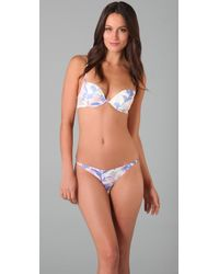Calvin Klein | Multicolor Envy Air Push Up Demi Bra | Lyst