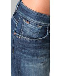 Joe's Jeans | Blue Best Friend Skinny Jeans | Lyst