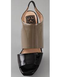 Pour La Victoire | Gray Cypris Platform Sandals | Lyst
