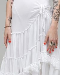 Free People | White Voile Dancing Queen | Lyst