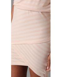 Robert Rodriguez | Pink Slouch Mini Stripe Dress | Lyst