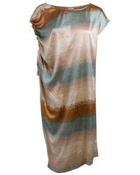 Edun | Multicolor Rainbow Sleeveless Tunic Dress | Lyst