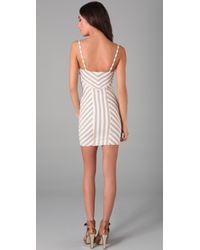 Torn By Ronny Kobo | White Nina Striped Dress | Lyst