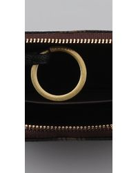 Tory Burch | Black Roslyn Zip Coin Case | Lyst