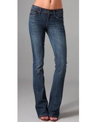 Citizens of Humanity | Blue Amber Mid Rise Boot Cut Jeans | Lyst