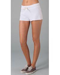 Monrow | White Vintage Shorts | Lyst