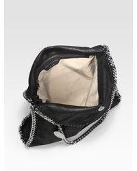 Stella McCartney - Black Mini Bella Star-print Denim Tote Bag - Lyst