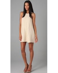 Tibi | Natural Lo Bello Crochet Dress | Lyst