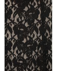 Alice By Temperley - Black Lace Shift Dress - Lyst