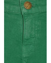 Current/Elliott - Green The Ankle Mid-rise Skinny Jeans - Lyst