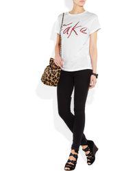 Ksubi - White Fake Cotton T-shirt - Lyst
