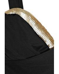 La Perla | Black Ruched Cut-out One-piece Swimsuit | Lyst