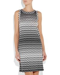 Missoni | Black Zig-zag Knit Dress | Lyst