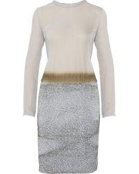 Proenza Schouler | Purple Ombré Silk-chiffon Dress | Lyst