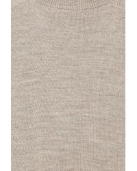 Stella McCartney | Brown Cashmere, Silk and Wool-blend Jumpsuit | Lyst
