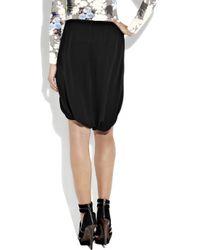 Willow - Black Silk Sarong Shorts - Lyst