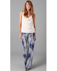 Georgie | Blue St. Barts Tie Dye Pants | Lyst