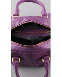 Marc By Marc Jacobs | Purple Ozzie Square Baby Aiden Bag | Lyst