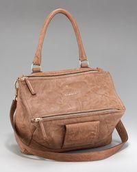 Givenchy | Brown Pandora Mini Crossbody Bag | Lyst
