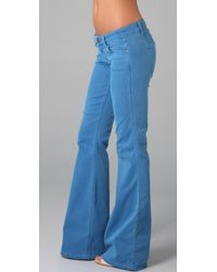 Rich & Skinny - Blue Bikini Flare Jeans - Lyst