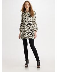 Sonia by Sonia Rykiel   Black Dalmatian-print Cotton-drill Coat   Lyst