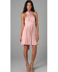 Twobirds | Pink Short Convertible Dress | Lyst