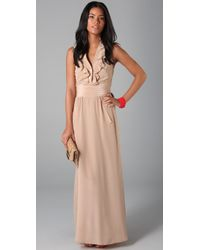 Sunner | Natural Florent Maxi Dress | Lyst