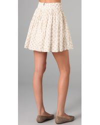 Club Monaco - Natural Kolina Skirt - Lyst